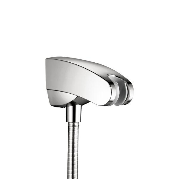 Showerpower Porter E Holder with Outlet by Hansgrohe