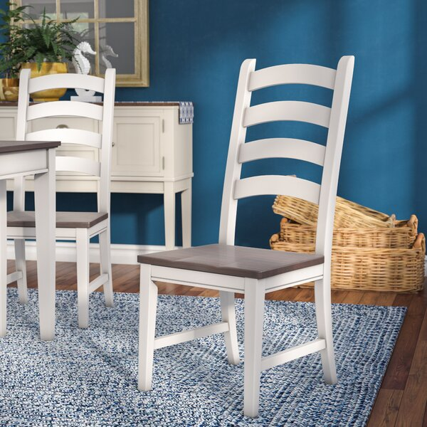 Tamiami Ladderback Side Chair (Set of 2) by Beachcrest Home