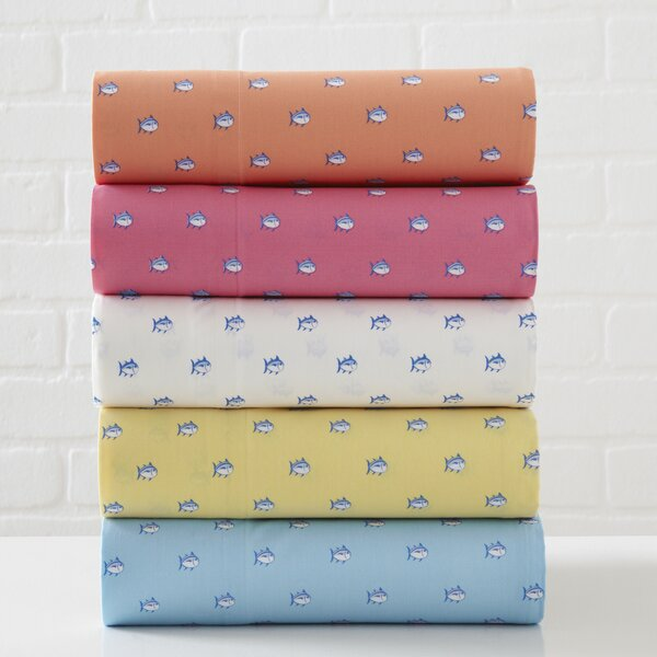 Skipjack 200 Thread Count Cotton Sheet Set by Southern Tide
