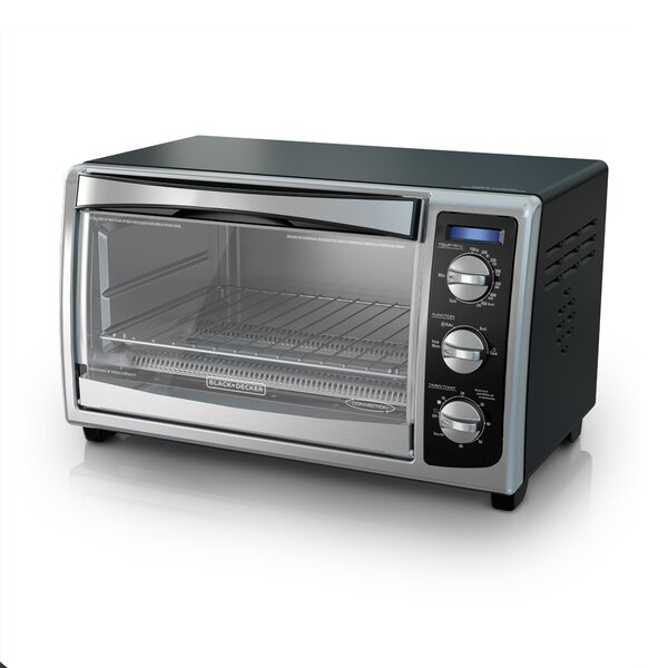Countertop Convection Toaster Oven by Black + Decker