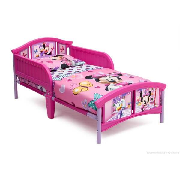 Minnie Mouse Plastic Toddler Bed By Delta Children by Delta Children New Design