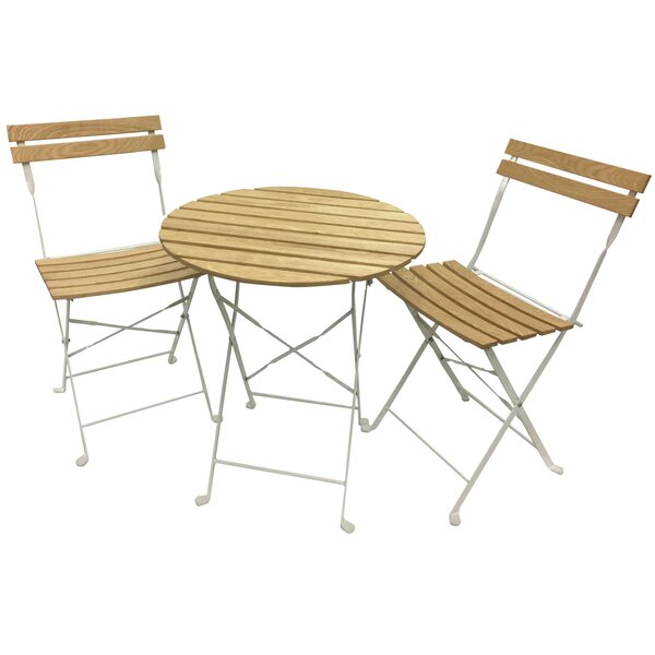 Phat Tommy Aviara 3 Piece Bistro Set by Buyers Choice