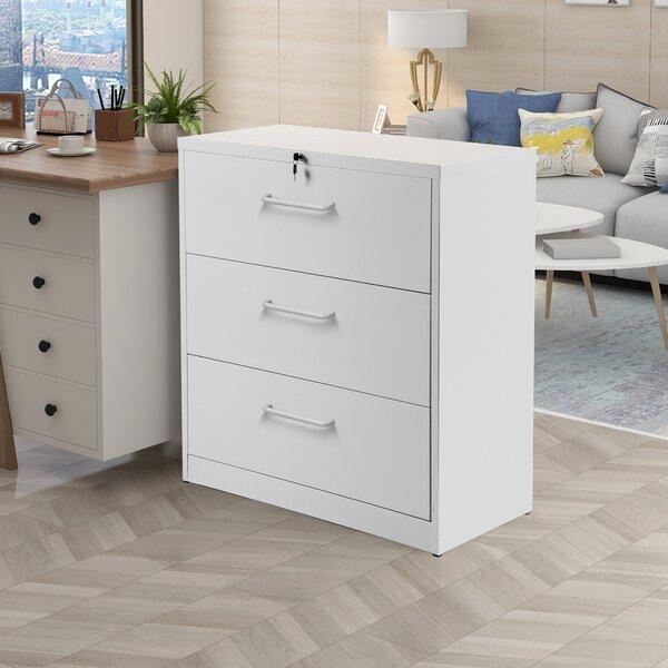3-Drawer Vertical Filing Cabinet