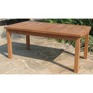 Compare & Buy Gassaway Teak Coffee Table ByHighland Dunes