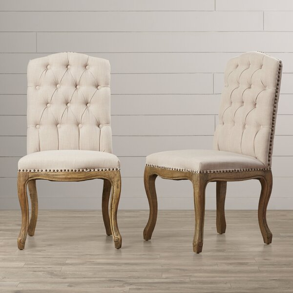 Armstead Upholstered Dining Chair (Set of 2) by One Allium Way