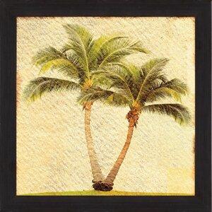 Palms I Framed Graphic Art by PTM Images