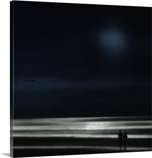 You Are My Ocean by Piet Flour Photographic Print on Canvas by Canvas On Demand