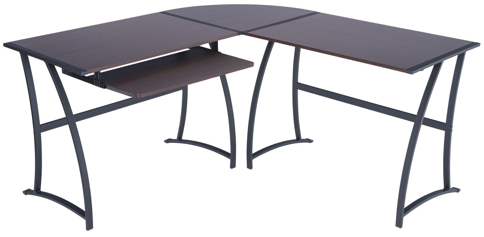 Techni Mobili Lshaped Computer Desk 89 Fascinating Best L