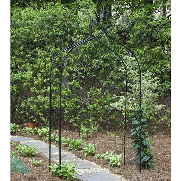 Gothic Steel Arbor by World Source Partners