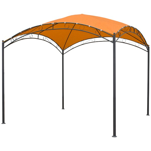 Bordner 10 Ft. W x 10 Ft. D Steel Pop-Up Canopy by Mercury Row