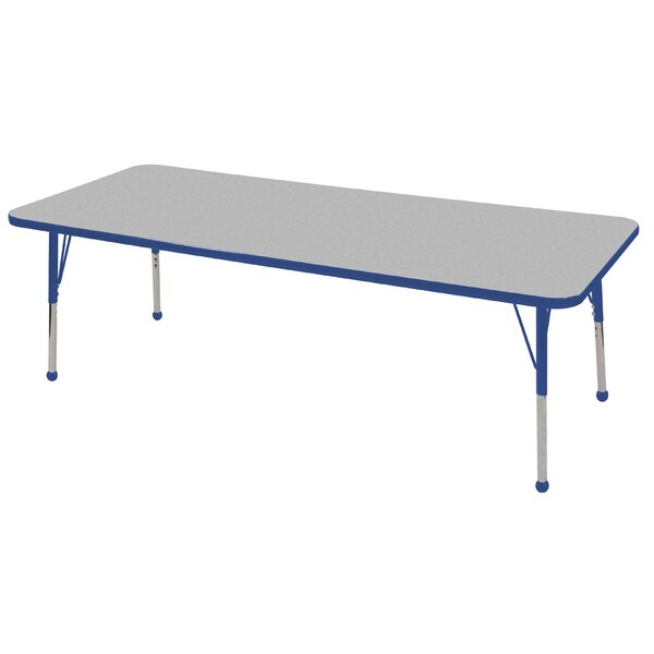 72 x 24 Rectangular Activity Table by ECR4kids