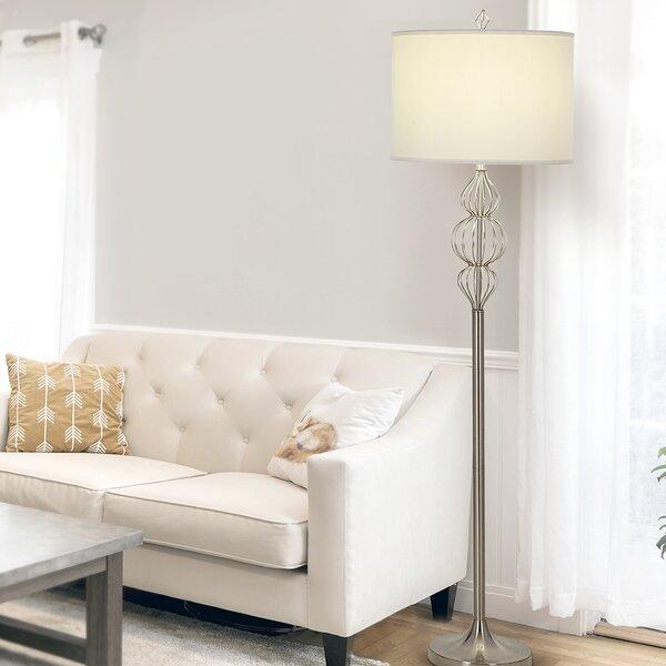 Seibold 63 Floor Lamp by Orren Ellis
