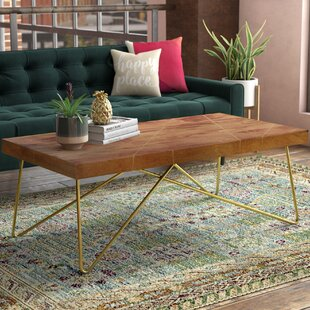 Check Prices Kunze Coffee Table ByMercury Row