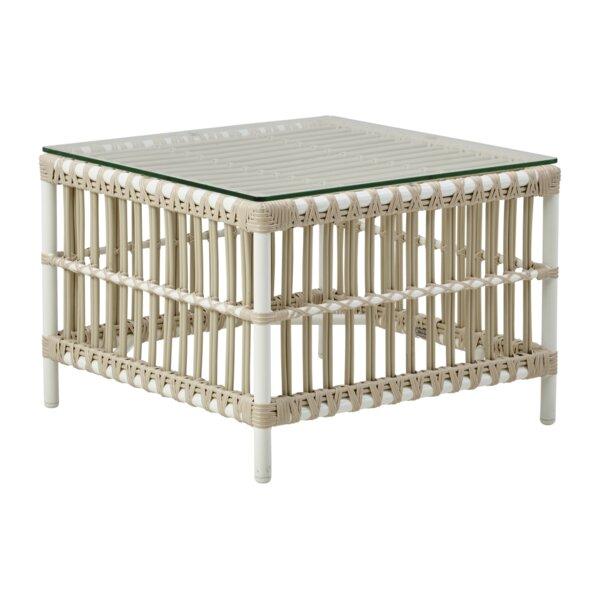 Hollis Rattan Side Table by Bayou Breeze
