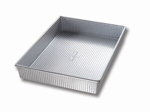 Non-Stick Rectangular Cake Pan by USA Pan