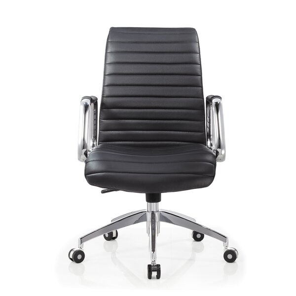 Dungonnell Conference Mid Back Multi Function Ergonomic Office Chair by Ivy Bronx