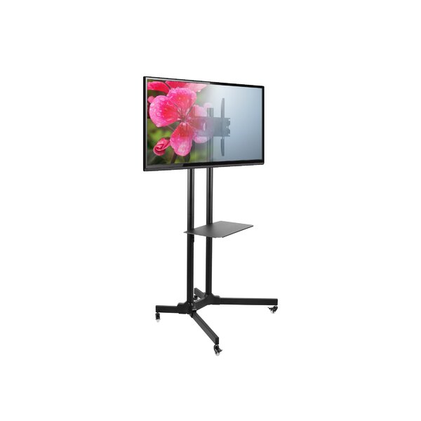 SM61 Mobile Fixed Floor Stand Mount 30-65 Flat Panel Screens by Seneca AV