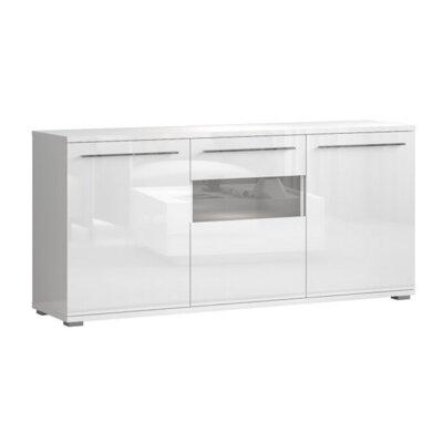 Orren Ellis Gibrilla 70.8 Wide Sideboard  Color: White