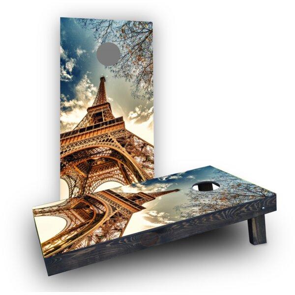 Eiffel Tower (Set of 2) by Custom Cornhole Boards