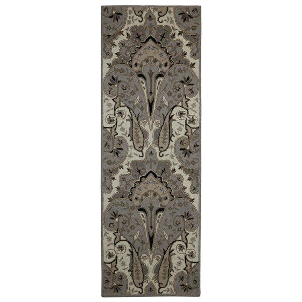 Structure Hand-Tufted Silver Area Rug by St. Croix