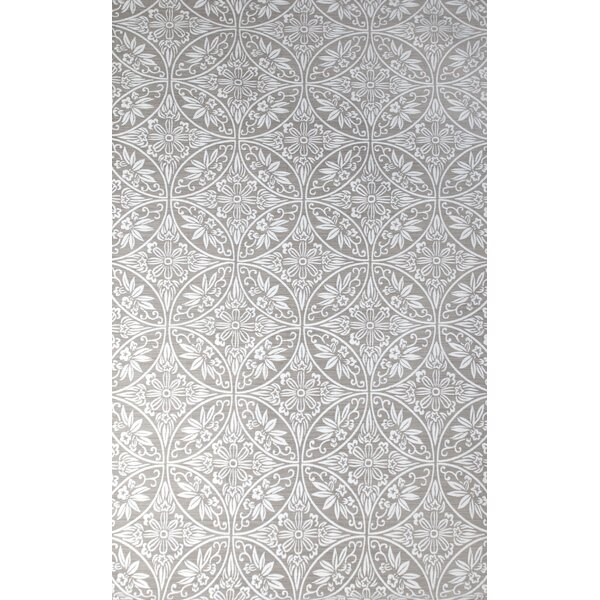 Antalya Hand-Woven Ivory/Gray Indoor Area Rug by Tuft & Loom