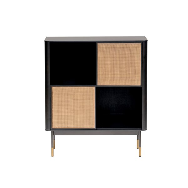 Pembrook 2 Doors Square Accent Cabinet by Wrought Studio Wrought Studio