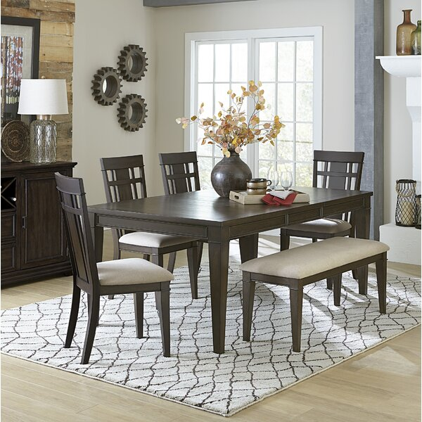 Hagood 6 Piece Extendable Dining Set by Gracie Oaks