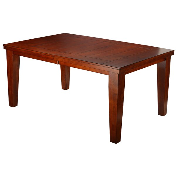Lynzey Expandable Solid Wood Dining Table by Red Barrel Studio Red Barrel Studio