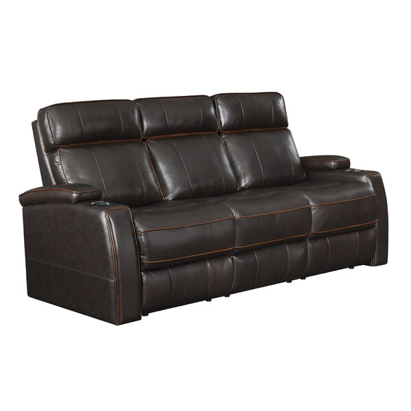 Dawud Reclining 85.5-inch Pillow top Arm Sofa by Ebern Designs Ebern Designs