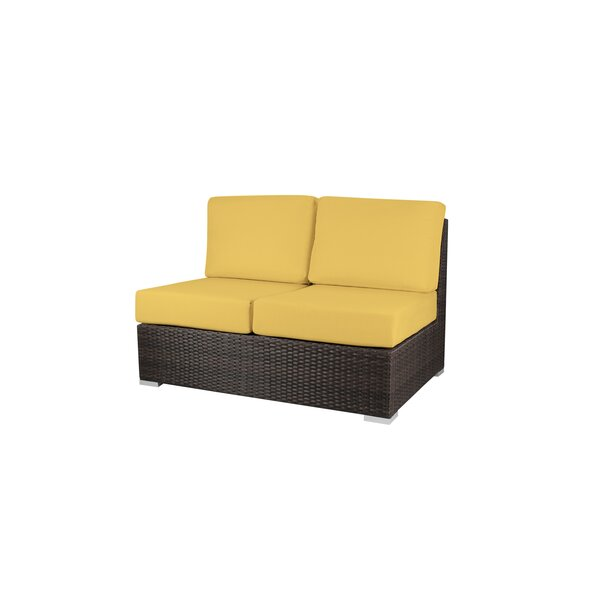 Carnegie Armless Loveseat with Cushions by Latitude Run