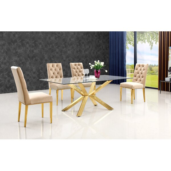 Woodland 5 Piece Dining Set by Everly Quinn