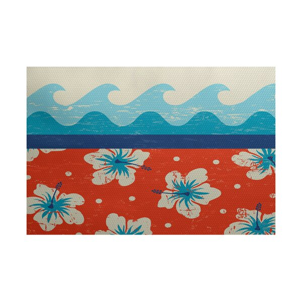 Golden Beach Indoor/Outdoor Area Rug by Bay Isle Home