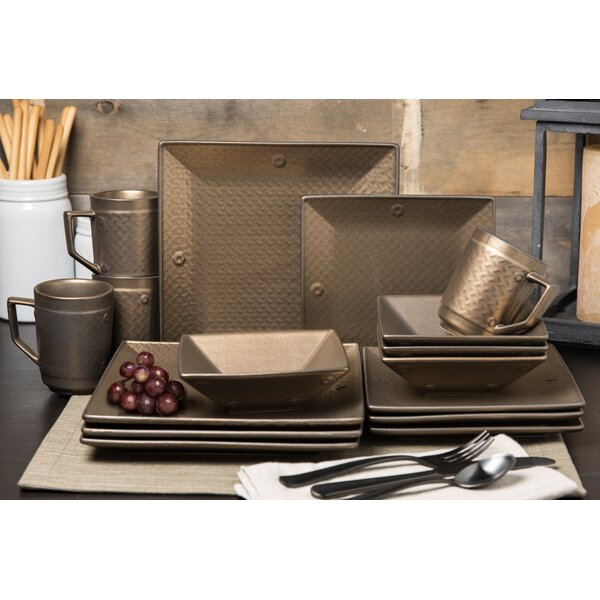 Sprowston 16 Piece Dinnerware Set, Service for 4 by Williston Forge