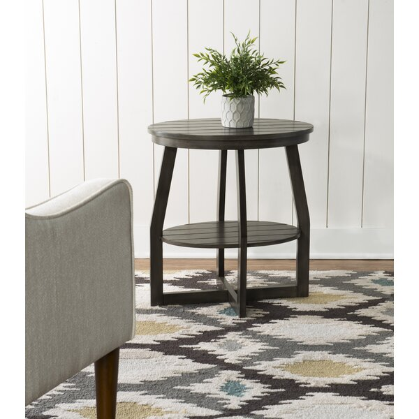 Abstract End Table By Rosecliff Heights