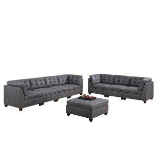 Abixah 8 Piece Living Room Set by Ebern Designs