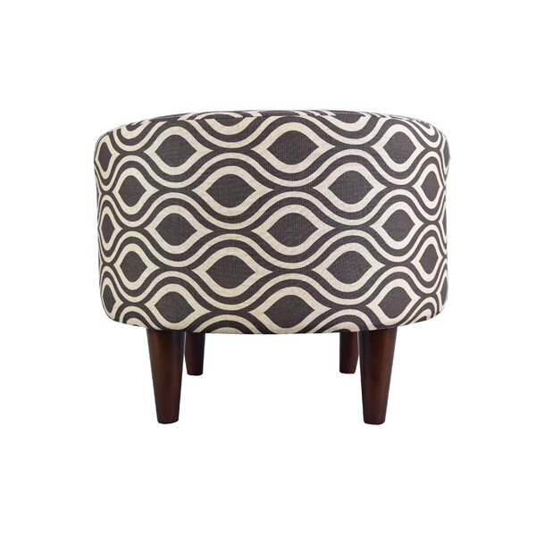 Raine Cocktail Ottoman by Wrought Studio