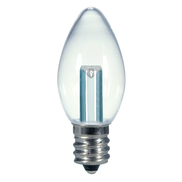 0.5W E12/Candelabra LED Light Bulb by Satco