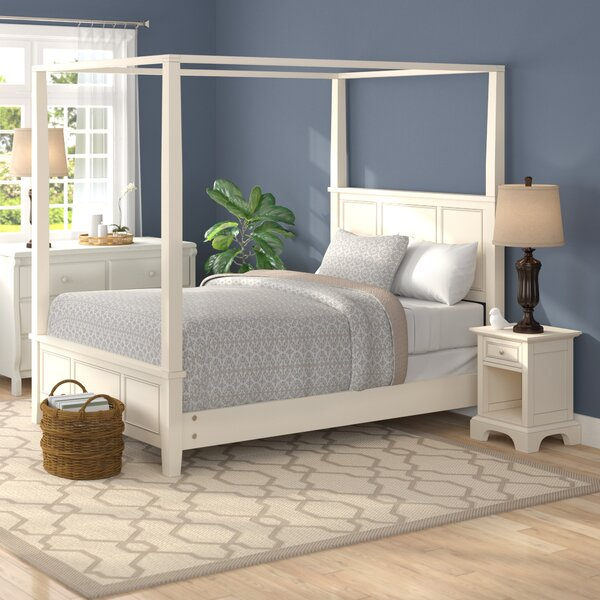 Lafferty Canopy 2 Piece Bedroom Set by Alcott Hill