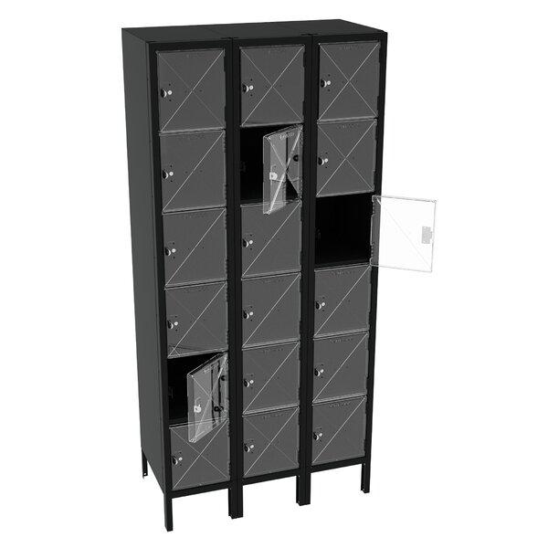 6 Tier 3 Wide Storage Locker by Tennsco Corp.