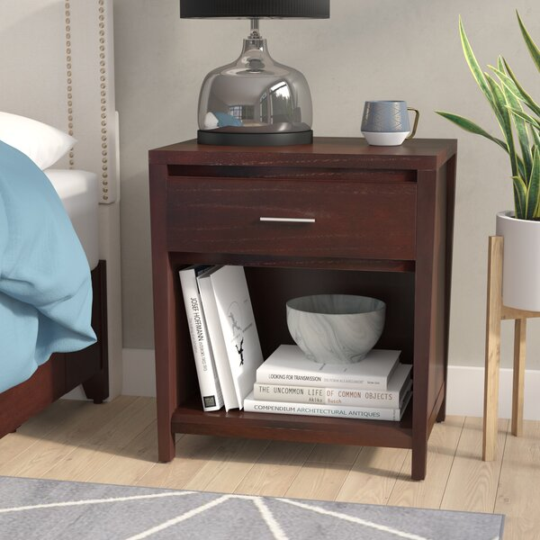 Thierry 1 Drawer Nightstand by Latitude Run