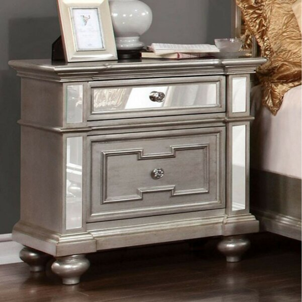 Lightle 2 Drawer Nightstand by Rosdorf Park