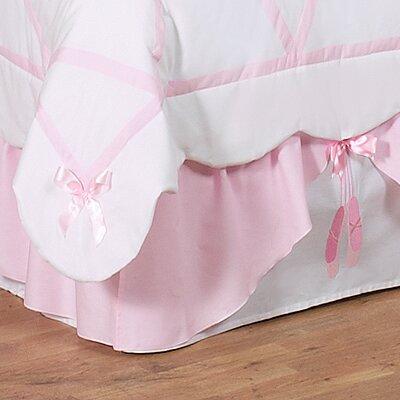 Ballerina Queen Bed Skirt by Sweet Jojo Designs