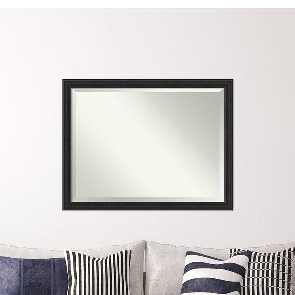 Mcbrayer Narrow Beveled Wall Mirror