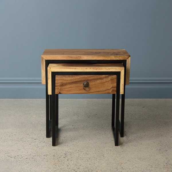 Christner 2 Piece Nesting Tables By Union Rustic
