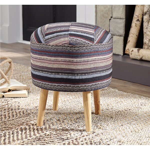 Granillo Accent Stool by Bungalow Rose