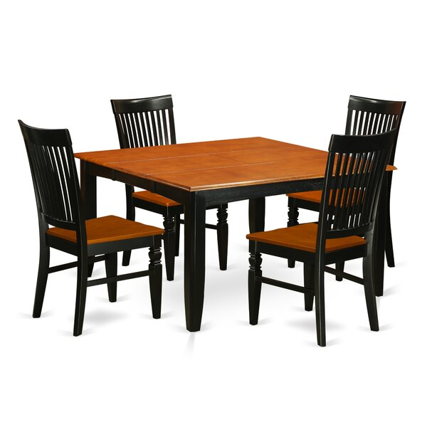 Pilning 9 Piece Extendable Dining Set by August Grove