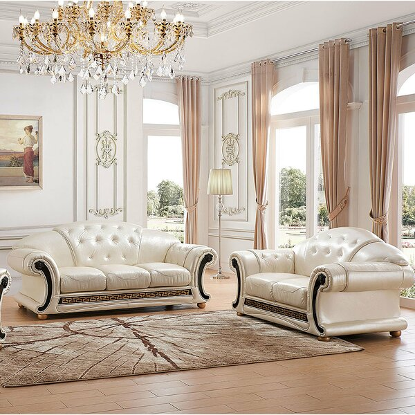 Looking for Forde 2 Piece Leather Living Room Set By House Of Hampton Best Choices