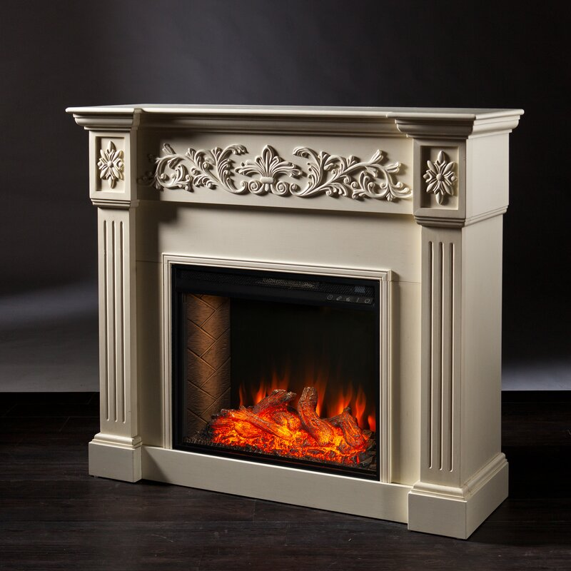 Darby Home Co Calvert Alexa Enabled Fireplace
