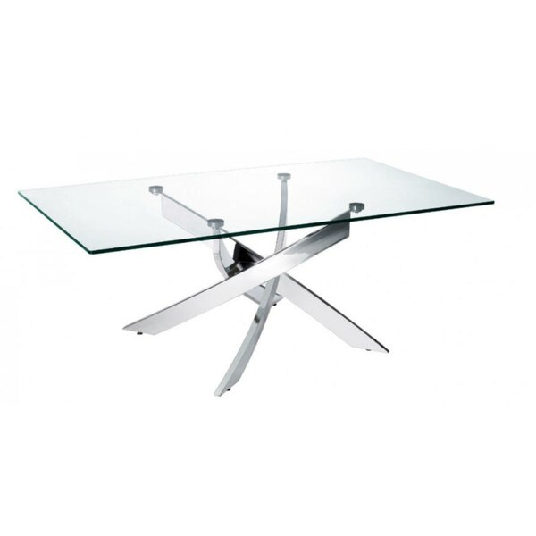 Chokio Glass Top Coffee Table By Orren Ellis