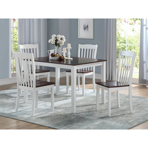 Zakary 5 Piece Dining Set by August Grove August Grove